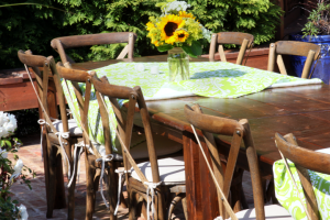 Crossback Vineyard Chair Rentals Athens GA