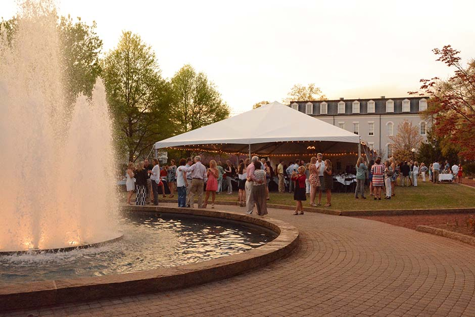 Herty Field Tent Rental