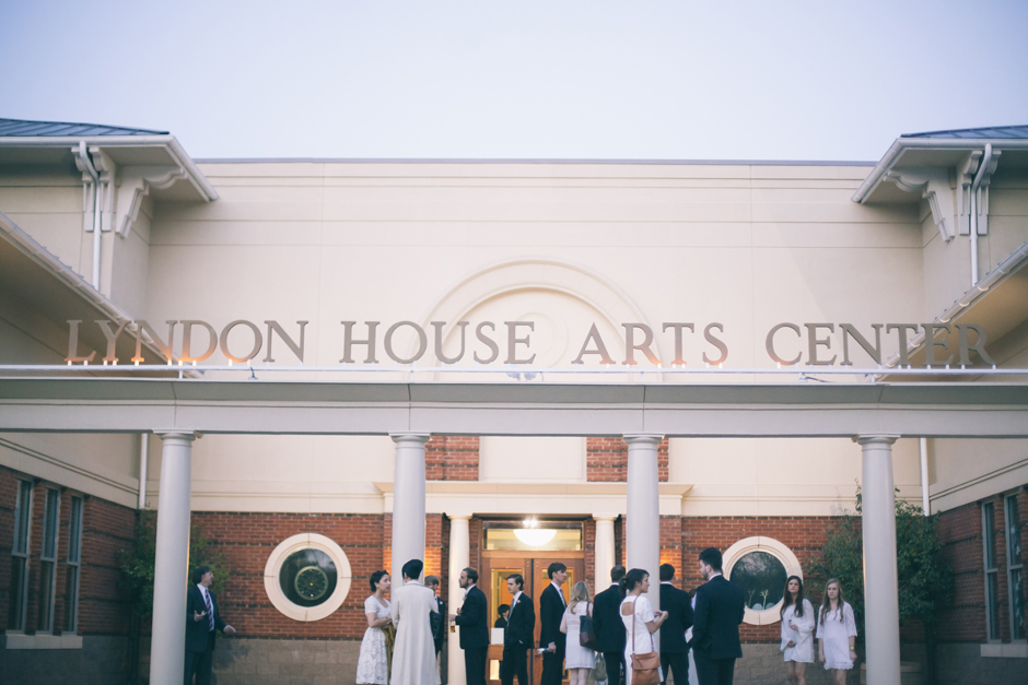 Lyndon House of Arts in Downtown Athens Georgia - Weddings by Oconee Events
