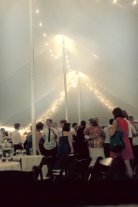Pole Tent Wedding Rental Athens