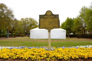 UGA Parents Weekend Tent Rental