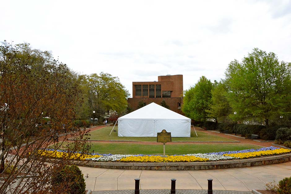 UGA Sorority Rush Tent Rental