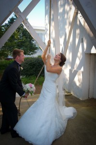 UGA Ringing Bell Wedding - Tent Event Rentals