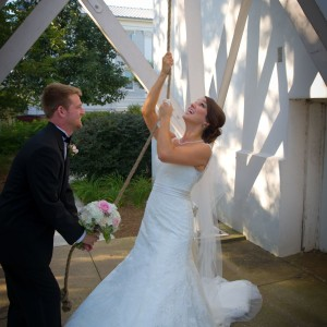 UGA Ringing Bell Wedding - Tent Event Rentals
